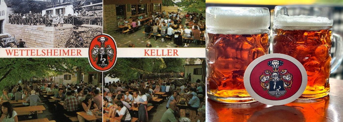 Tradioneller Biergarten seit 1850