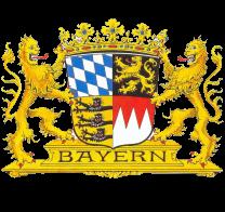 Wappen Bayern Natur Biergarten